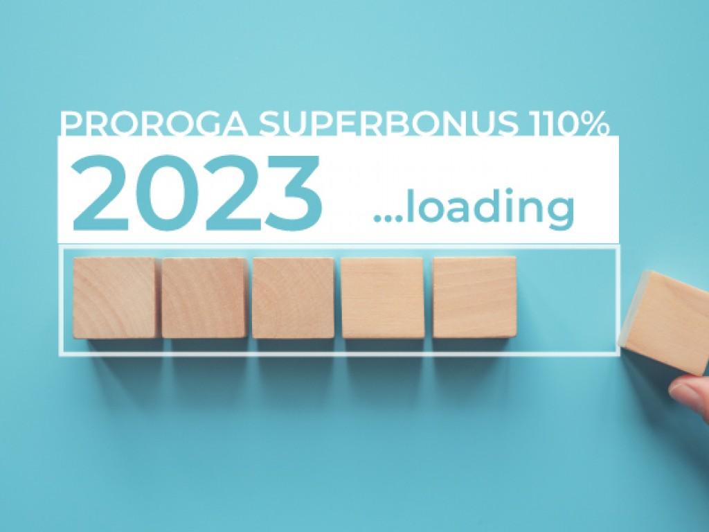 Superbonus e proroghe 2022