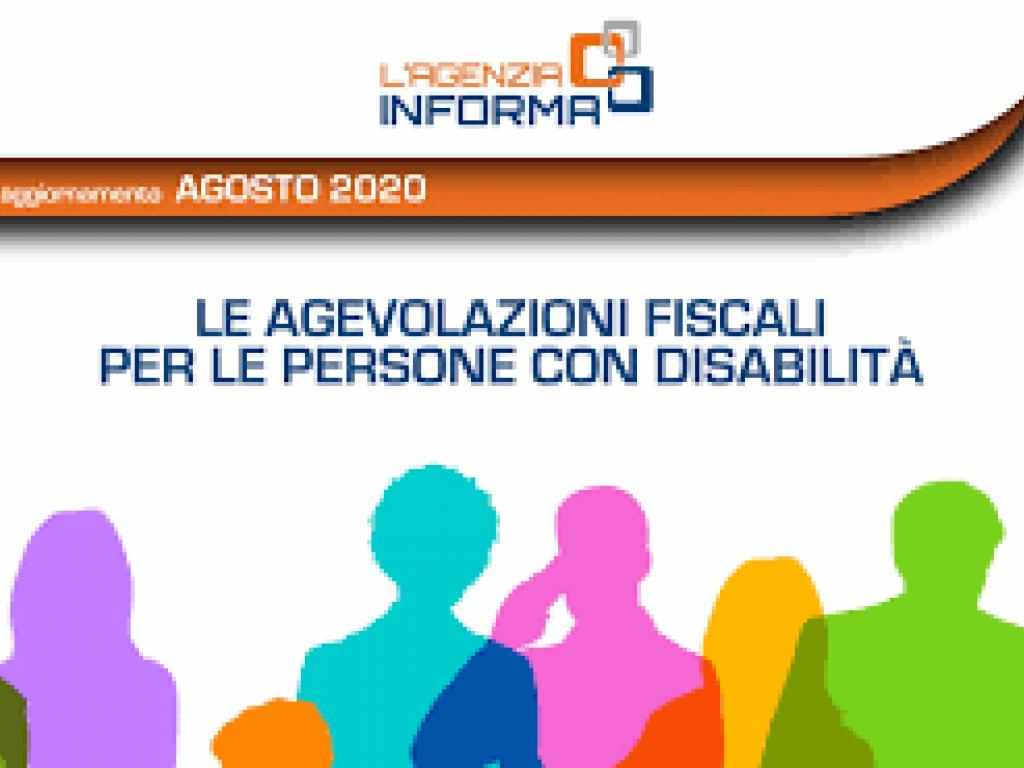 Agevolazioni per persone con disabilità