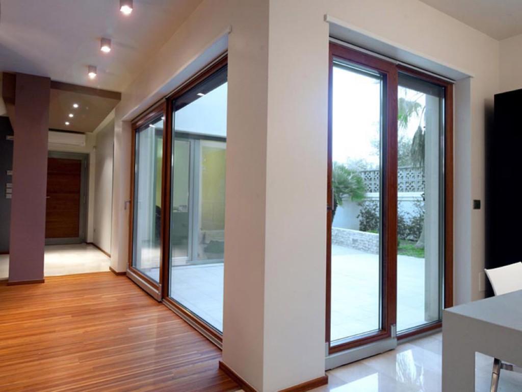 Frames aluminum/wood Aelle 100